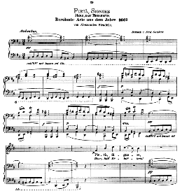 Pieta,Signore. Medium-Low Voice in B Minor, A Stradella. Ed. André (1876) Vol. I, 906-b. PD | eBooks | Sheet Music