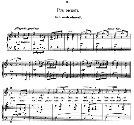 pur dicesti o boca bella, medium voice in c major, a lotti.  caecilia, ed. andré (1876) vol. i, 906-b. pd