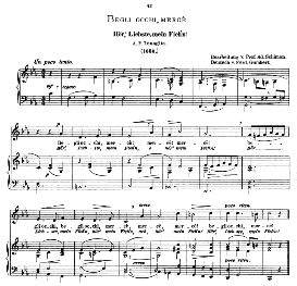 Begli occhi, mercé. Low Voice in C Minor.  Caecilia, Ed. André (1876) Vol. I, 906-b. PD A. F. Tenaglia. | eBooks | Sheet Music