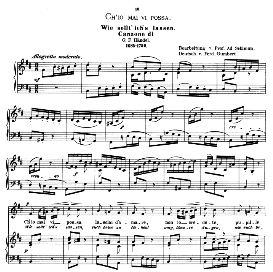 ch'io mai vi possa, low voice in b minor, g f haendel. caecilia, ed. andré (1876) vol. i, 906-c. pd
