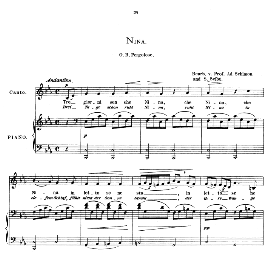 nina, low voice in c minor, g. b. pergolesi. caecilia, ed. andré (1876) vol. i, 906-c. pd