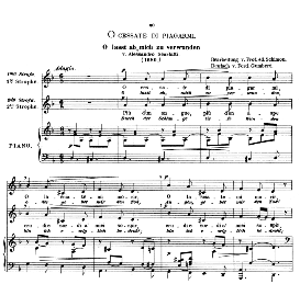 o cessate di piagarmi, low voice in d minor, a. scarlatti. caecilia, ed. andré (1876) vol. i, 906-c. pd