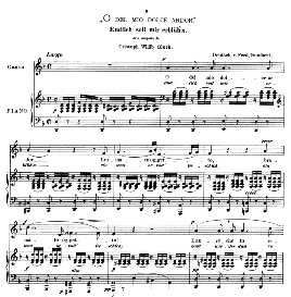 o del mio dolce ardor, low voice in d minor,  c w glück. caecilia, ed. andré (1876) vol. i, 906-c. pd