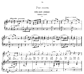 pur dicesti o boca bella, low voice in b flat major, a lotti. caecilia, ed. andré (1876) vol. i, 906-c. pd