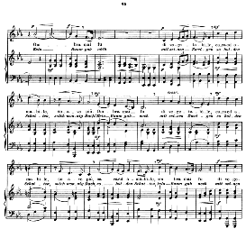 frondi tenere...ombra mai fu, medium voice in e flat major, g.f.haendel. recitative and aria. caecilia, ed. andré (1900) vol. ii, 906-e. pd