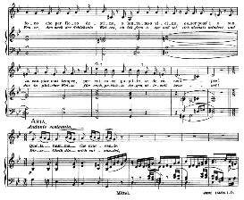 il mio bel foco... quella fiamma, medium voice in g minor, b. marcello. caecilia, ed. andré (1900) vol. ii, 906-e. pd