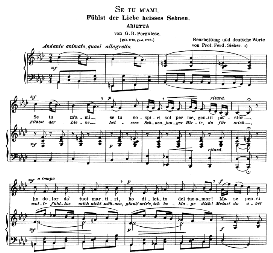 se tu m'ami, medium voice in f minor, g.b.pergolesi. caecilia, ed. andré (1900) vol. ii, 906-e. pd