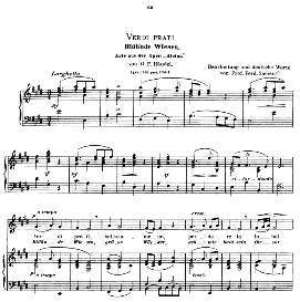 verdi prati, medium voice in e major, g.f.haendel. caecilia, ed. andré (1900) vol. ii, 906-e. pd
