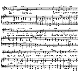 frondi tenere...ombra mai fu, low voice in d major, g.f.haendel. caecilia, ed. andré (1900) vol. ii, 906-f. pd