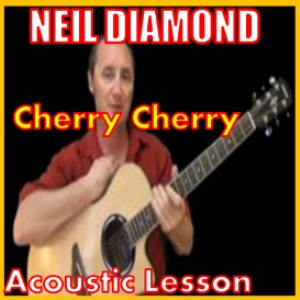 learn to play cherry cherry by neil diamond