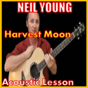 learn to play harvest moon by neil young