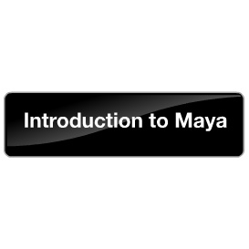 introduction to maya - free