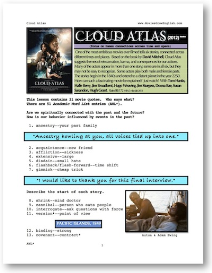 cloud atlas, whole-movie english (esl) lesson
