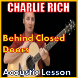 learn to play behind closed doors by charlie rich