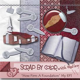 My EF1 Firm Foundation | Other Files | Scrapbooking