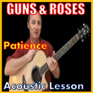 learn to play patience by guns and roses