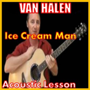 learn to play ice cream man by van halen