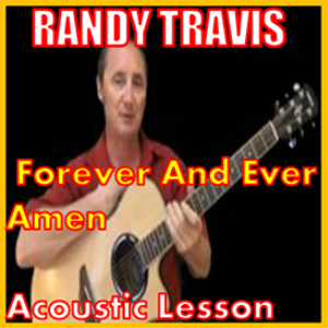 learn to play forever and ever amen by randy travis