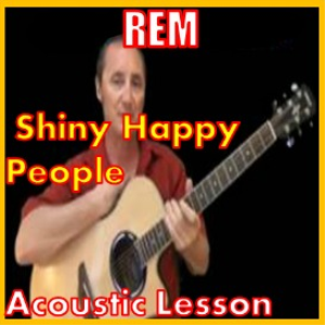Learn to play Shiny Happy People by REM | Movies and Videos | Educational