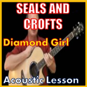 learn to play diamond girl by seals and croft