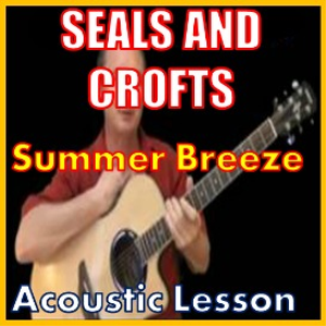 learn to play summer breeze by seals and croft