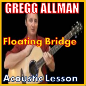 learn to play floating bridge by greg allman