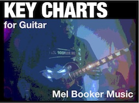 music theory: key charts