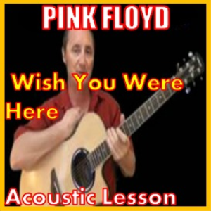 learn to play wish you were here by pink floyd