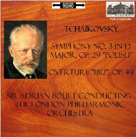 tchaikovsky: sym. no. 3/