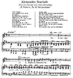 caldo sangue. a. scarlatti. alte meister des bel canto, ed. peters (pd)