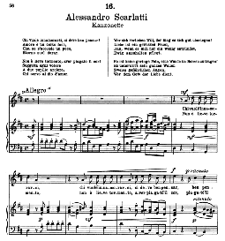 chi vuole innamorarsi. a. scarlatti. alte meister des bel canto, ed. peters (pd)