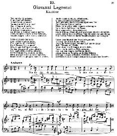 Non mi dir di palesar. G.Legrenzi.  Alte Meister des Bel Canto, Ed. Peters (PD) | eBooks | Sheet Music