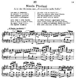 Non sarei si sventurata. N. Piccini. Alte Meister des Bel Canto, Ed. Peters (PD) | eBooks | Sheet Music
