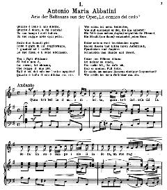 quanto è bello il mio diletto. a.m.abbatini. alte meister des bel canto, ed. peters (pd).
