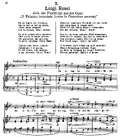 Se mi toglie ria sventura. L.Rossi. Alte Meister des Bel Canto, Ed. Peters (PD) | eBooks | Sheet Music