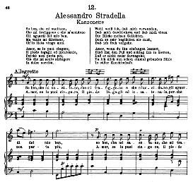 So ben che mi saettano. A.Stradella. Alte Meister des Bel Canto, Ed. Peters (PD) | eBooks | Sheet Music