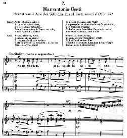 Addio, Corindo, Addio!...Vieni, Alidoro, vieni. M.A.Cesti. Alte Meister des Bel Canto, Ed. Peters (PD) | eBooks | Sheet Music