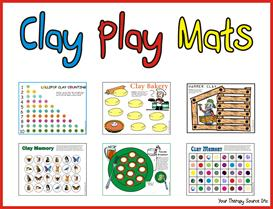 Clay Play Mats | eBooks | Education