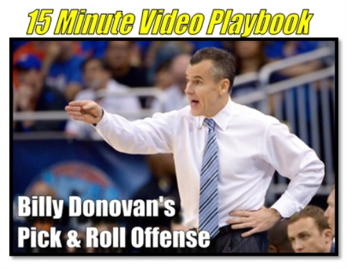 Second Additional product image for - Billy Donovan: Pick and Roll Offense/Matchup Press Defense/Individual Workouts