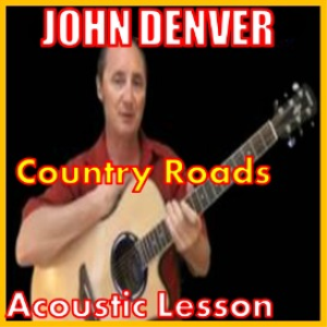 learn to play country roads by john denver
