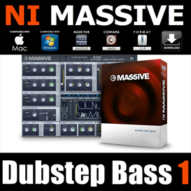 dubstep bass1 for massive