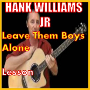learn to play leave them boys alone by hank williams jr