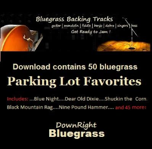 Bluegrass Parking Lot Favorites | Music | Backing tracks