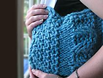 Asymmetric Cables Handbag | eBooks | Arts and Crafts