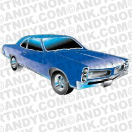 Car Clip Art 1966 Pontiac GTO | Photos and Images | Clip Art