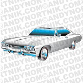 car clip art 1967 chevy ss impala