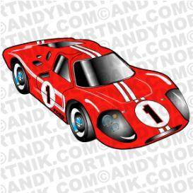 Car Clip Art 1967 Ford Mark IV | Photos and Images | Clip Art