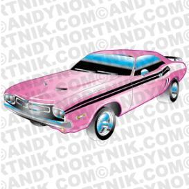 Car Clip Art 1971 Dodge Challenger | Photos and Images | Clip Art