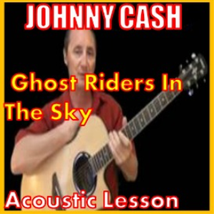 Learn to play Ghost Riders In The Sky by Johnny Cash | Movies and Videos | Educational