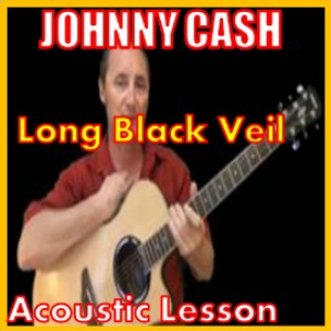 learn to play long black veil by johnny cash
